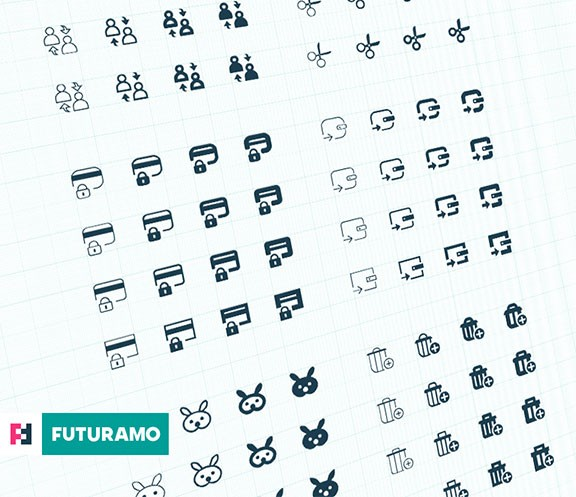 User Interface (UI) Icons – Some of the new forms