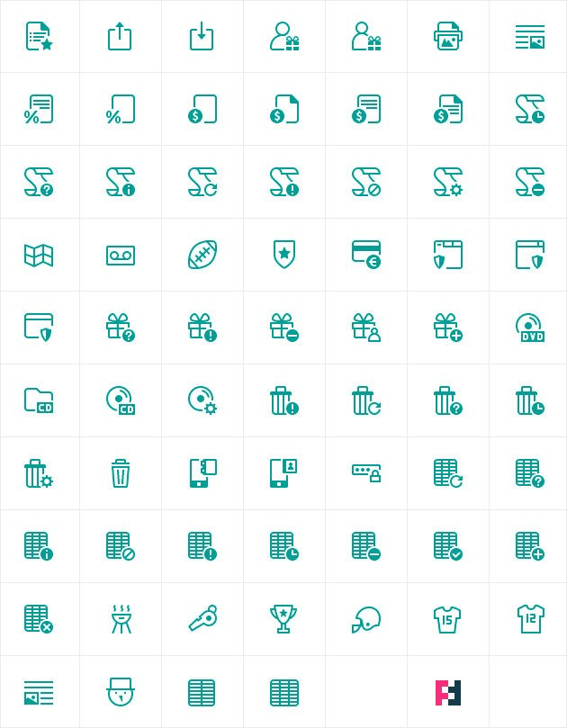 New icons: Soft Regular style