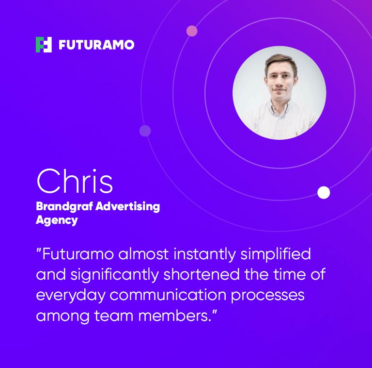 Customer success story with Futuramo