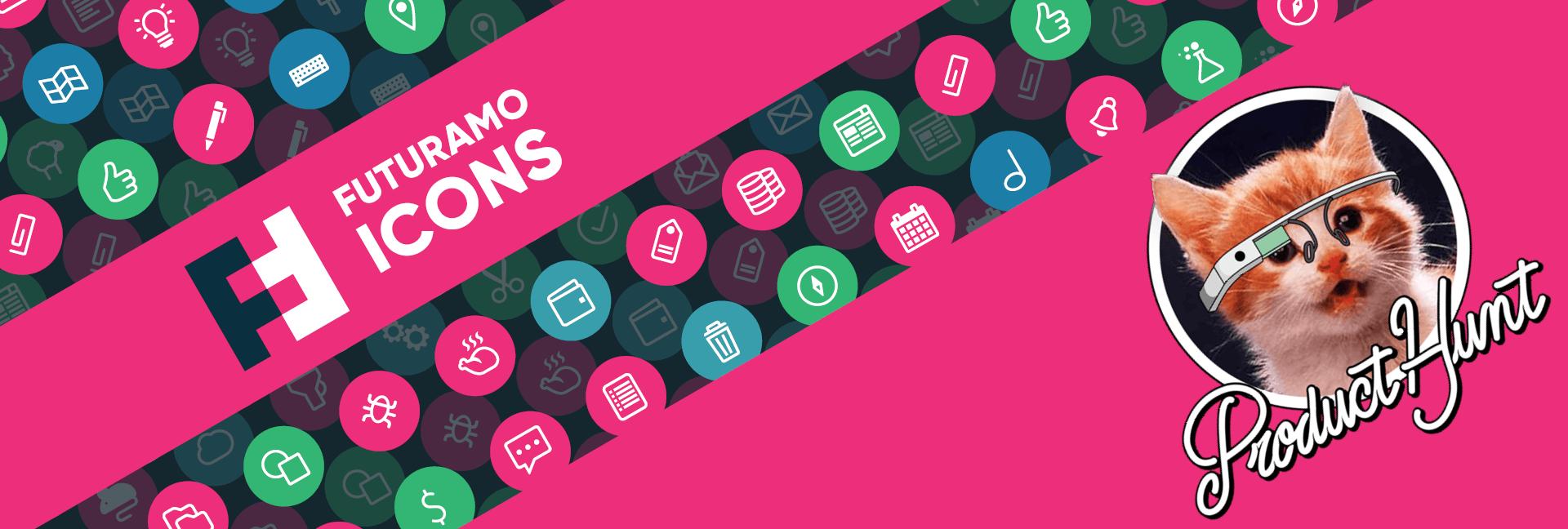 Futuramo Icons' big day on Product Hunt!