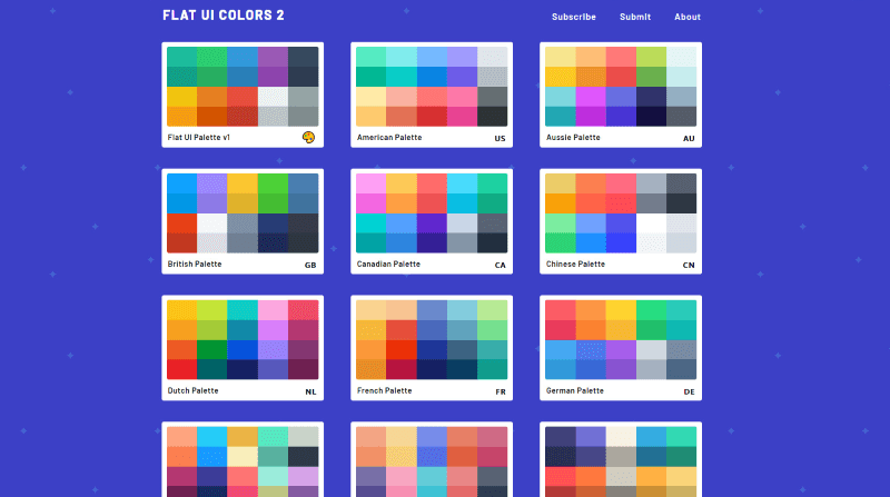 flat ui color-related apps