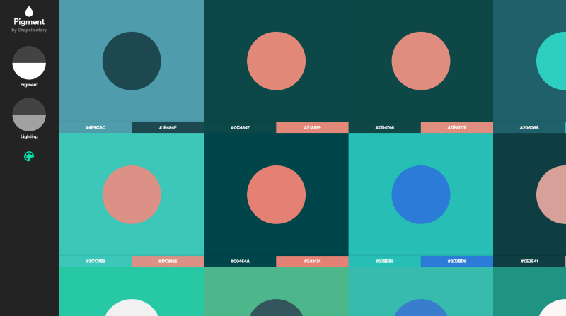 pigment color-related apps