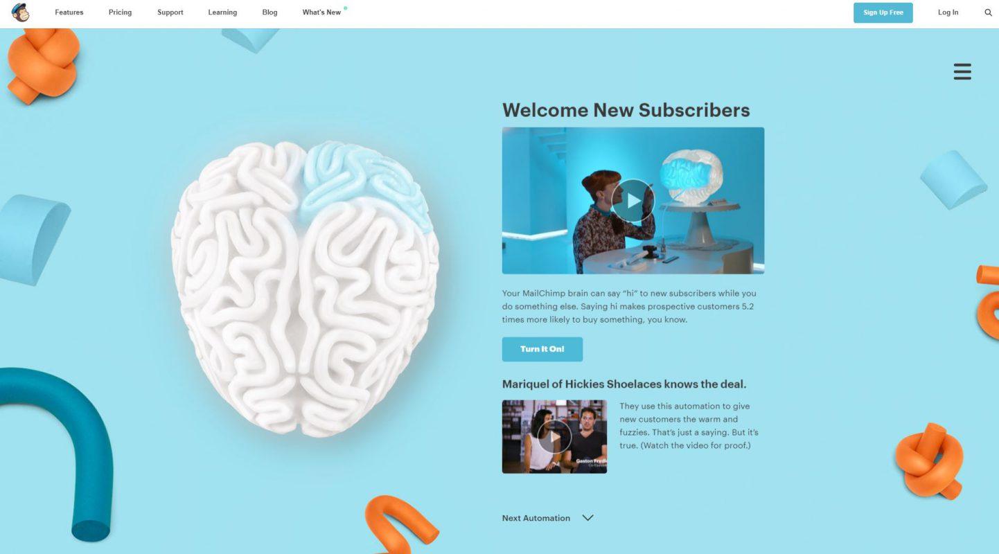 Mailchimp - Second Brain