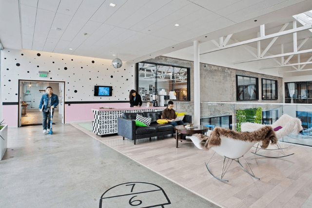 Airbnb office design